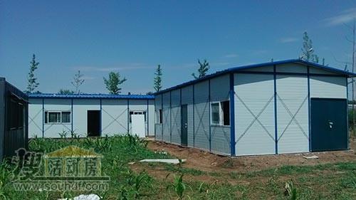 天津建一层彩钢房