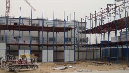 我公司去年的彩钢房案例1000平米二层的彩钢房