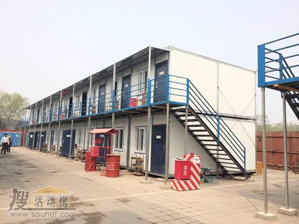二层集装箱活动房屋