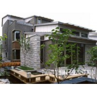 老品牌十年专业轻钢别墅,钢结构