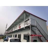 山西临汾抗风彩钢房厂家供应 办公用岩棉活动板房批量安装