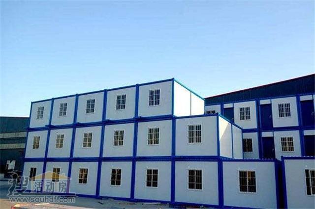 三层集装箱房屋怀柔区政府搭建的