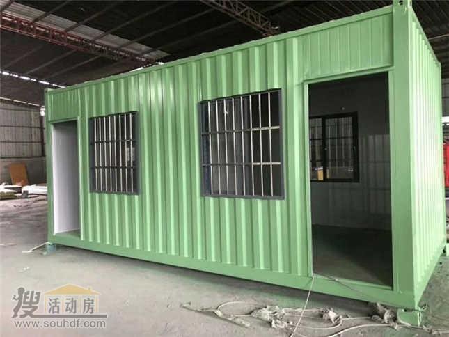 普通的铁皮集装箱房子出租