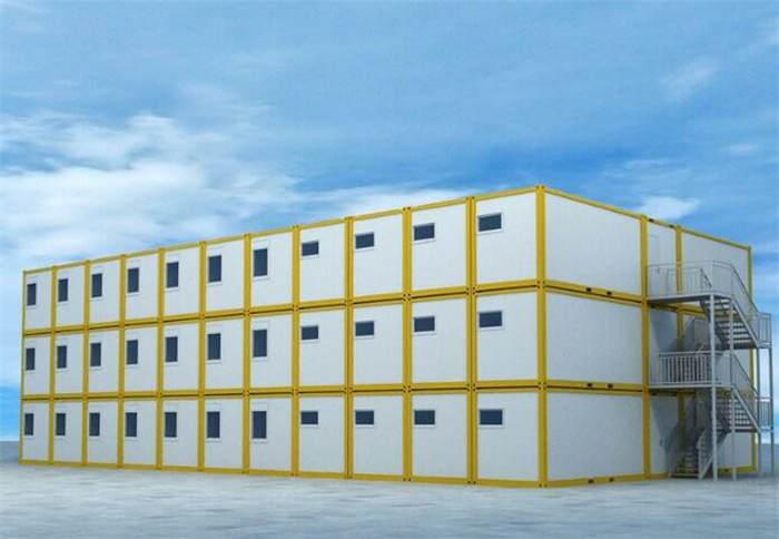 南京打包箱式房厂家 南京打包活动房材料【框架3.0钢带】
